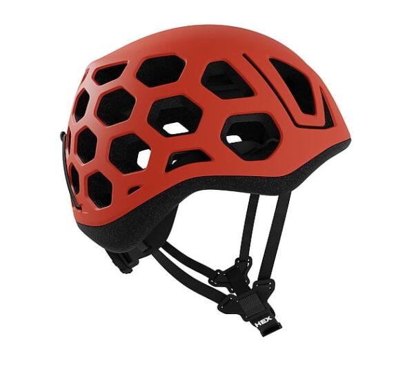 Plezalna čelada Hex Rdeča