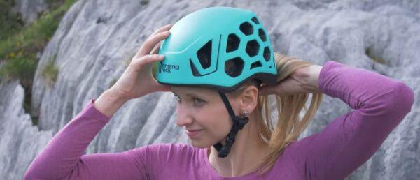 Plezalna čelada Hex na ženski